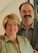 Karen Keating Ansara and Jim Ansara