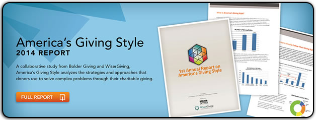 America's Giving Style - 2014 report