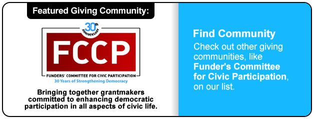 Giving Community - FCCP
