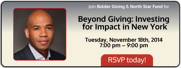 Beyond Giving: Investing for Impact in New York