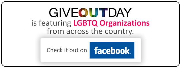 GiveOUTDay - featuring LGBTQ Organizations across the country