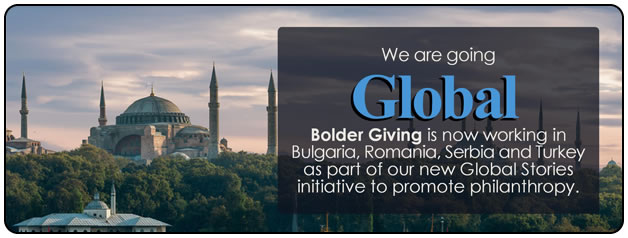 Bolder Giving is Global