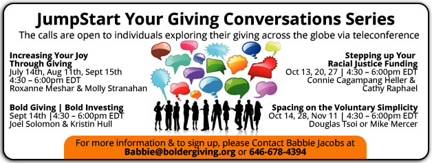 JumpStart Your Giving Conversations Series