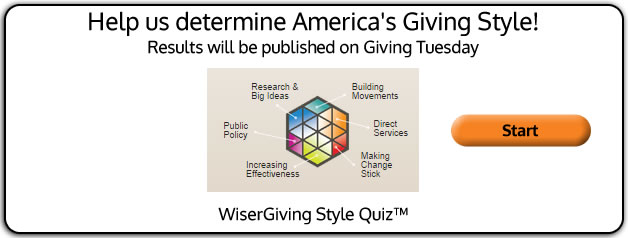 WiserGiving Style Quiz